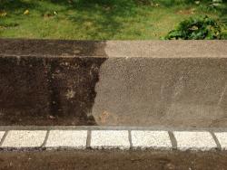 reinigen von beton granit marmor