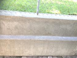 chemiefreie betonreinigung